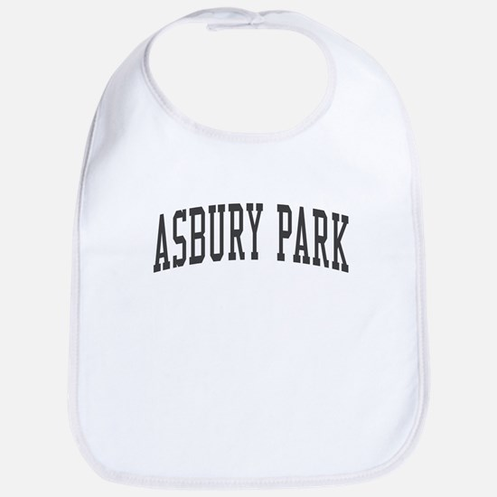 Asbury Park New Jersey NJ Black Bib