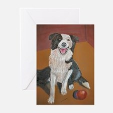 A Border Collie Greeting Cards (Pk of 10)