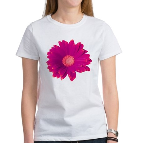 Electric Pink Gerbera Women's T-Shirt