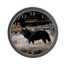 ''Wild Eyes'' Wall Clock