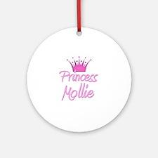 Princess Mollie Ornament (Round)