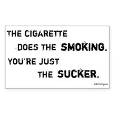 Anti-Smoking - Rectangle Decal