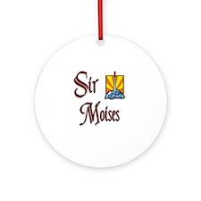 Sir Moises Ornament (Round)