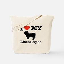 I love my Lhasa Apso Tote Bag
