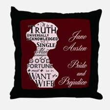 """Truth Universal"" Quote Throw Pillow"