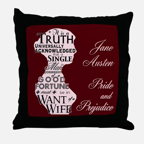 """""""Truth Universal"""" Quote Throw Pillow"""