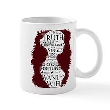 """Truth Universal"" Quote Small Mug"