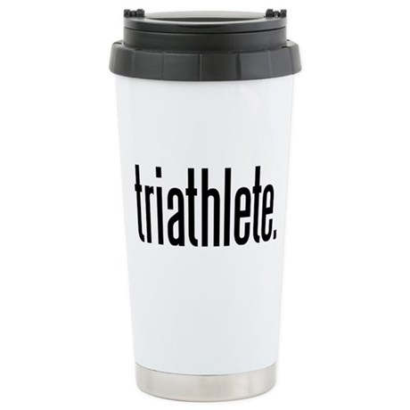 triathlete Stainless Steel Travel Mug