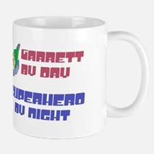 Garrett - Super Hero by Night Mug