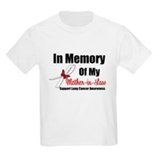 InMemoryMIL Lung Cancer T-Shirt