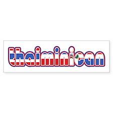 ThaiMinican Bumper Bumper Sticker