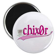 chix0r Magnet