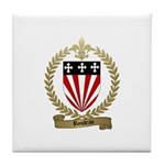 ROULEAU Family Crest Tile Coaster