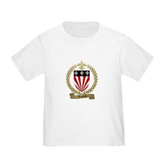 ROULEAU Family Crest Toddler T-Shirt