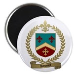 ROUSSEL Family Crest Magnet
