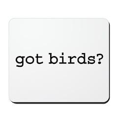 got birds? Mousepad