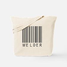 Welder Barcode Tote Bag