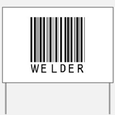 Welder Barcode Yard Sign