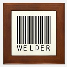 Welder Barcode Framed Tile