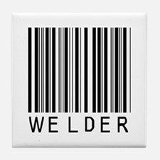 Welder Barcode Tile Coaster