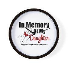 InMemoryDaughter LC Wall Clock