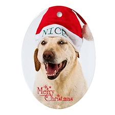 """Labrador Retriever """"Merry Christmas"""""""
