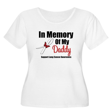 InMemoryDaddy Lung Cancer Women's Plus Size Scoop