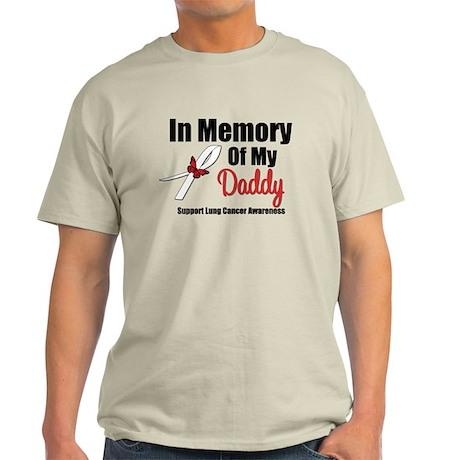 InMemoryDaddy Lung Cancer Light T-Shirt