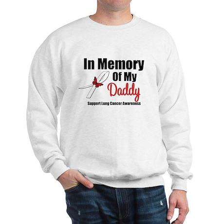 InMemoryDaddy Lung Cancer Sweatshirt