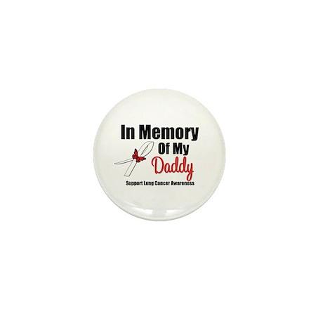InMemoryDaddy Lung Cancer Mini Button