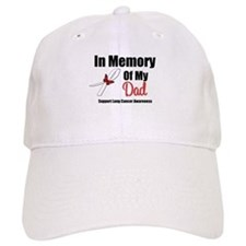 InMemoryDad Lung Cancer Baseball Cap