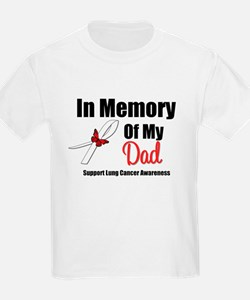 InMemoryDad Lung Cancer T-Shirt