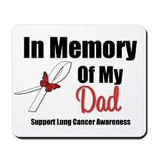 InMemoryDad Lung Cancer Mousepad