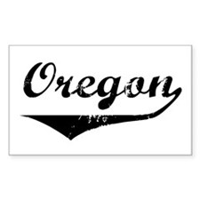 Oregon Rectangle Decal