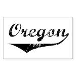 Oregon Rectangle Sticker