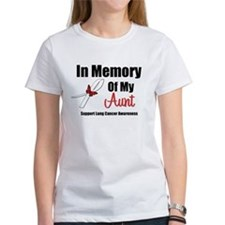 In Memory Aunt Lung Cancer Tee