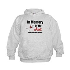 In Memory Aunt Lung Cancer Hoodie
