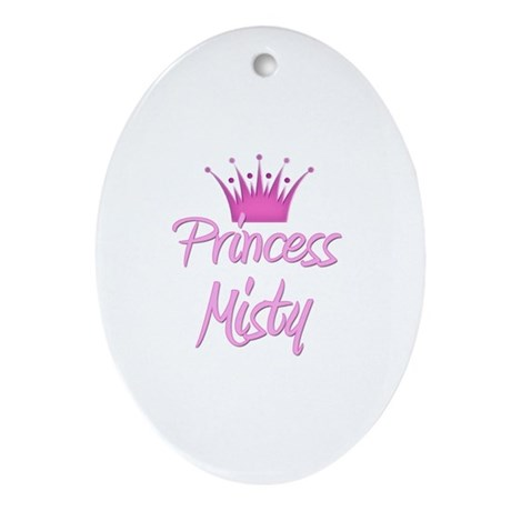 Princess Misty Oval Ornament