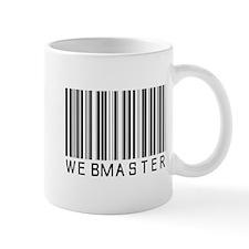 Webmaster Barcode Mug