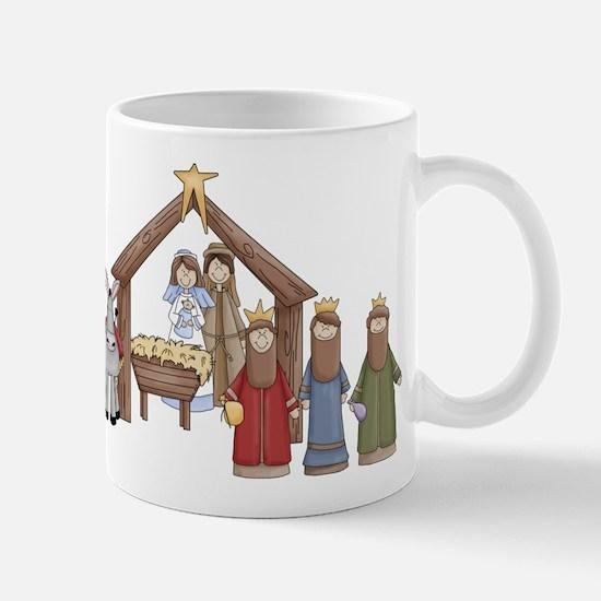 Nativity Scene Christmas Mug