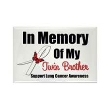 InMemoryTB Lung Cancer Rectangle Magnet