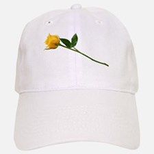Yellow Rose Baseball Baseball Cap