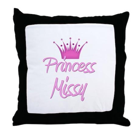 Princess Missy Throw Pillow