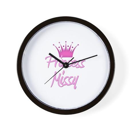 Princess Missy Wall Clock