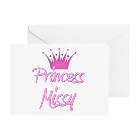 Princess Missy Greeting Cards (Pk of 20)