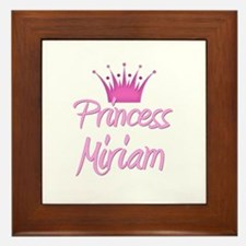 Princess Miriam Framed Tile