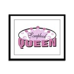 Srapbook Queen Framed Panel Print