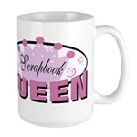 Srapbook Queen Large Mug