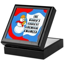 Cool Chemical Engineer Keepsake Box