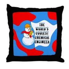Cool Chemical Engineer Throw Pillow